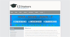 Preview of 121tutors.net